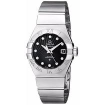 Reloj Omega Constellation Mujer Negro 12310272051001