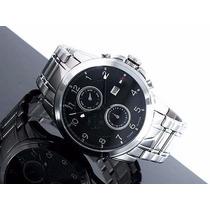 Reloj Tommy Hilfiger Dual Time 1710296 Envío Gratis Plateado