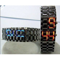 Lote 10 Relojes Iron Samurai Led Watch Envio Gratis