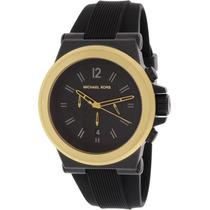 Reloj Michel Kors Dylan Mk8383 Negro Caballero Envío Gratis