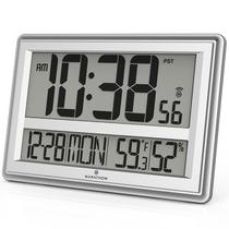Reloj Atomico Marathon Cl030056bk Plateado