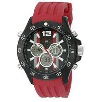 Reloj U. S. Polo Assn Original Rojo