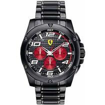 Reloj Ferrari Scuderia Paddock Negro