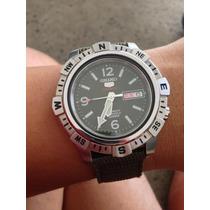 Reloj Seiko Srp145k1 Automatico 24 Joyas Dia Y Fecha