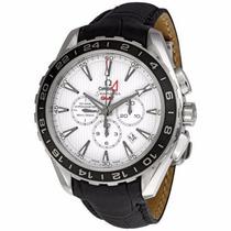 Reloj Omega Seamaster Aqua Terra Plateado 23113445204001