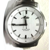 Reloj Mido Ocean Star Automático Caratula Blanco Elegante