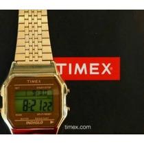 Reloj Timex T2p487 80s Casio! Envio Gratis!! 100% Original