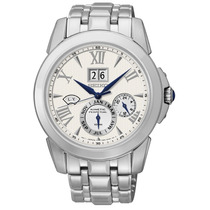 Reloj Seiko Calendario Kinetic Perpetual Acero Snp065