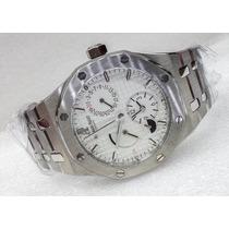 Reloj Para Caballero Acero Royal Oak Cara Blanca