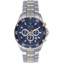 Reloj Bulova Marine Star Acero Inoxidable Azul 98h37