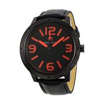 Reloj Brooklyn Caballero Negro 1950bbr, Garantia, Piel, Hm4