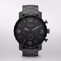 Reloj Fossil Nate Chronograph Nuevo Jr1401 | Envio Gratis