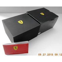 Estuche Original P/ Reloj Ferrari Bueno Fotos Reales 002