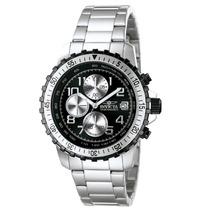 Reloj Invicta Specialty Acero Inoxidable, Crono, Negro, 6000