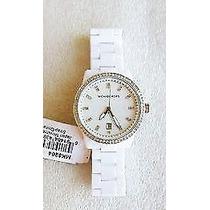 Reloj Michael Kors Blanco Precioso Mk 5204+ Envio Gratis!!
