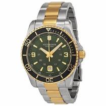 Reloj Victorinox Maverick Cronógrafo Dorado Verde 241605