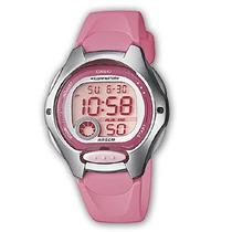 Reloj Casio Dama Lw-200 Alarma Cronometro Luz Contra Agua