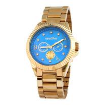 Rel N2f Fancy Dorado Con Azul Dama