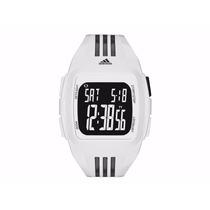 Reloj Adidas Nuevo Blanco Con Caratula Negra Adp6091