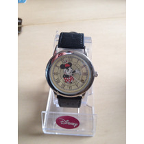 Reloj De Minie Mouse Disney 36mm Niña O Dama Estuche