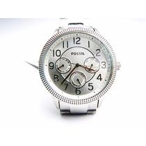 Reloj Fossil Plateado Bq1498 Original *envío Gratis