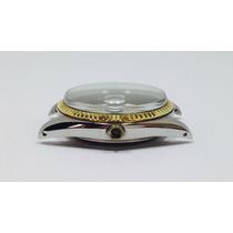 Rolex: Caja, Tapa, Bisel Y Cristal Originales Oro Y Acero.