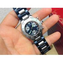 Cartier Chronoscaph 21 Acero Caballero Caucho Sub