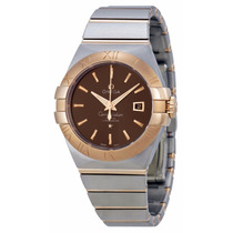 Reloj Omega Constellation Mujer Oro 18k Negro 12320312013001