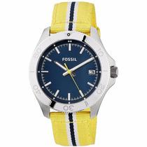 Reloj Fossil Am4477 Nylon - Fechador - Wr 100m - Cfmx