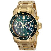 Reloj Invicta Pro Diver Acero Inoxidable, 18k Oro, 0075