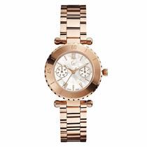 Reloj Guess Con Acabado Nacarado Oro Rosado-oro