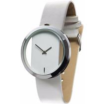 Reloj De Mano Minimalista Estilo Ck Unisex Glam