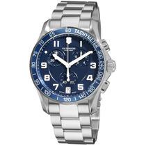Reloj Victorinox Chrono Classic Acero Inoxidable 241497