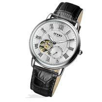 Reloj Automático Ep Números C Cuero Romana