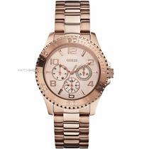 Reloj Guess Ladies Rose Gold Tone W0231l4 | Watchito