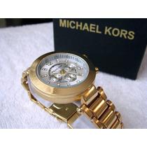 Excelente Reloj Michael Kors Oro/plata Subasta 1