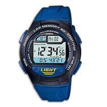 Reloj Casio W734 Cronometro 60 Lapsos Temporizador 5 Alarmas