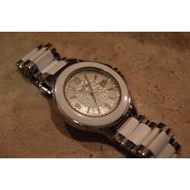 Reloj Cerámica Lucien Piccard Edición Especial Diamantes