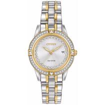 Reloj Citizen Eco-drive Acero Dorado Mujer Fe1154-57a