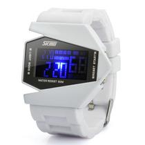 Relógio De Pulso 1.2 Com Un Led Prova D'água E Digital