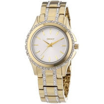 Reloj Dkny Silver Dial Gold-tone Stainless Steel Ny8699