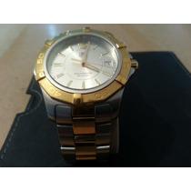 Reloj Tag Heuer, Aquaracer Dorado Con Acero 300 M 41 Mm