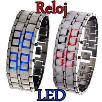 Lote 10 Relojes Iron Samurai Led Watch Envio Gratis Omm