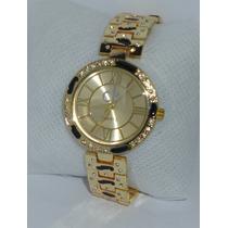 Reloj Mujer Calvin Klein Ck Oro Barato Excelente Regalo