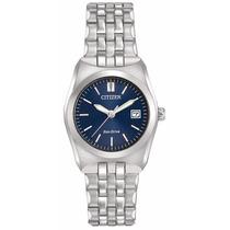 Reloj Citizen Eco-drive Acero Azul Mujer Ew2290-54l