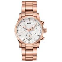 Pulso Mido Dama M0052173311600 Multifort Cronografo Diamante