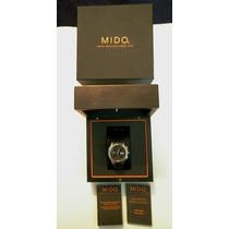 Mido Ocean Star Crono Automático Valjoux 7750 Titanio Caucho