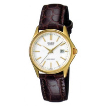 Reloj Casio Dama Ltp-1183 Acero Piel Water Resis Fecha