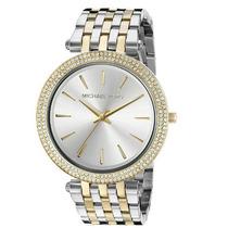 Reloj Dama Michael Kors Collection Mk3215 Dos Tonos Darci