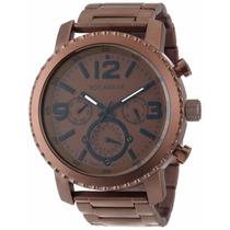 Reloj Rocawear Metal - Cristal Mineral - Wr 100m - Cfmx